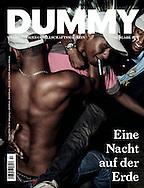 Dummy Magazin n&deg;53 &quot;Ein Nacht auf der Erde&quot;. Cover and portfolio titled &quot;Funk you&quot;.<br /> http://www.dummy-magazin.de/issues/53-nacht