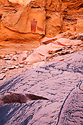 A Freemont indian pictograph panel. Glen Canyon National Recreation Area, Utah.