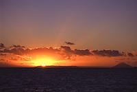 Sunset Near Kao Volcano..Shot in Kingdom of Tonga