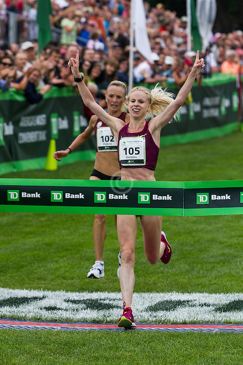Beach to Beacon 10K: top women dual for the win, Gemma Steel over Shalane Flanagan