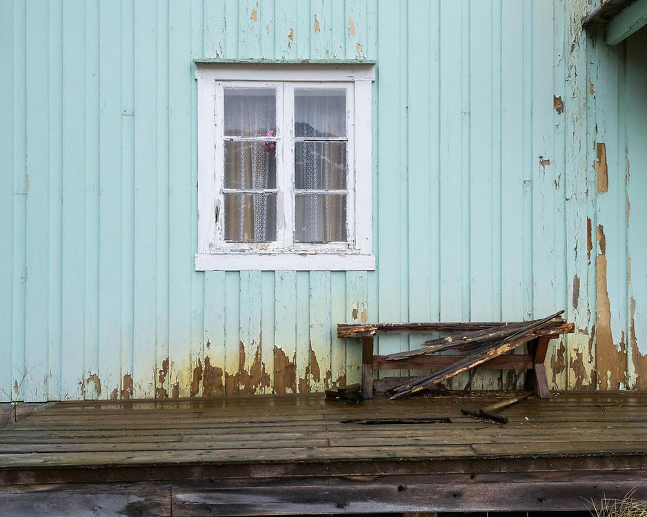 Farm house, Selfjord, Lofoten, Norway