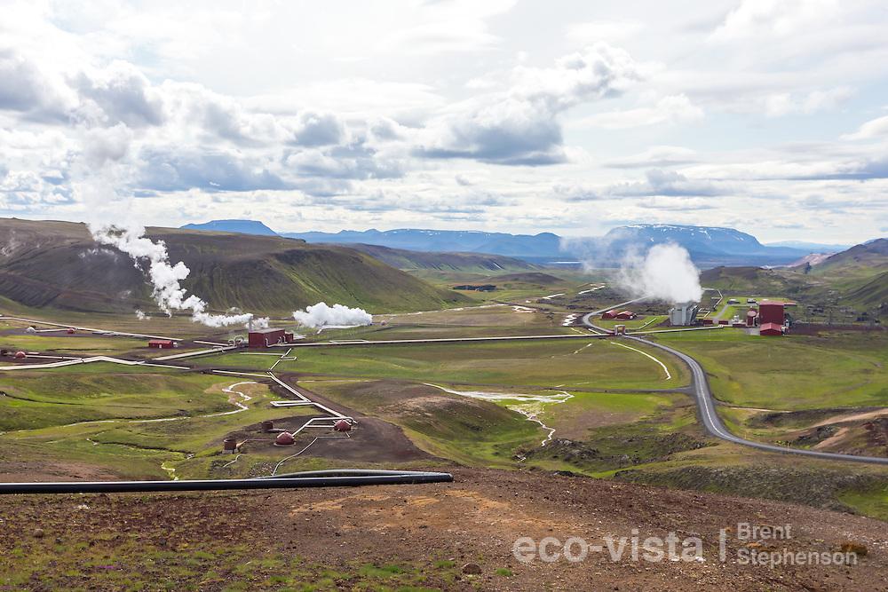 Krafla Power Station, Myvatn, Iceland. July.