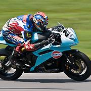 14 AUGUST 2009: AMA at Virginia international race way super bike qualifying
