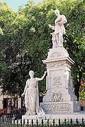 Monumento Francisco de Albear, Havana Vieja, Cuba.