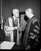 1970 - 22/04 Honorary Degrees at National University of Ireland