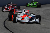 Ryan Briscoe, Scott Dixon, Dario Franchitti, Indy Car Series