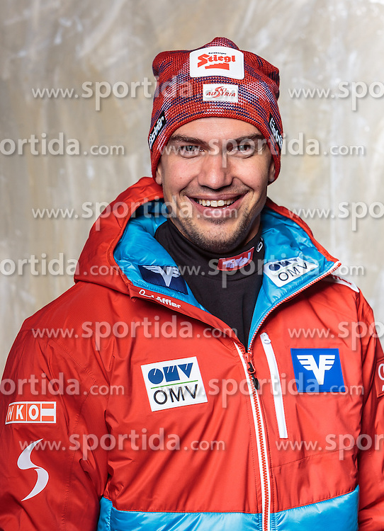 08.10.2016, Olympia Eisstadion, Innsbruck, AUT, OeSV Einkleidung Winterkollektion, Portraits 2016, im Bild Florian Liegl, Skisprung, Herren, Trainer // during the Outfitting of the Ski Austria Winter Collection and official Portrait Photoshooting at the Olympia Eisstadion in Innsbruck, Austria on 2016/10/08. EXPA Pictures © 2016, PhotoCredit: EXPA/ JFK