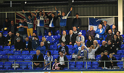 Bristol Rovers Fans - Mandatory byline: Joe Meredith/JMP - 07966 386802 - 29/09/2015 - FOOTBALL - Victoria Park - Hartlepool, England - Hartlepool United v Bristol Rovers - Sky Bet League Two