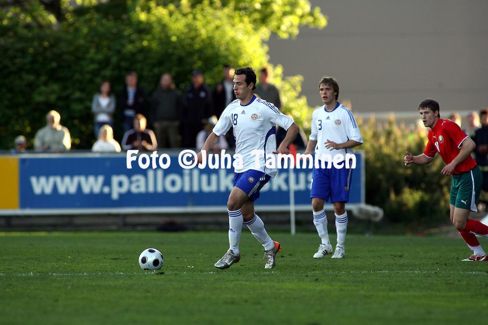 02.06.2008, Veritas stadion, Turku, Finland..Yst?vyysottelu Suomi - Valko-Ven?j? / Friendly International match Finland v Belarus.Berat Sadik - Finland.©Juha Tamminen.....ARK:k
