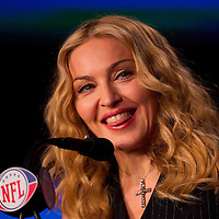 Entertainment - Madonna Super Bowl Press Conf - Indianapolis, IN