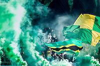 DEN HAAG - ADO Den Haag - Feyenoord , Voetbal , Eredivisie , Seizoen 2015/2016 , Kyocera Stadion , 01-11-2015 , Sfeer in het stadion voorafgaand aan de wedstrijd