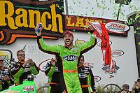 James Hinchcliffe, Iowa Corn Indy 250, Iowa Speedway, Newton, IA USA 06/23/13
