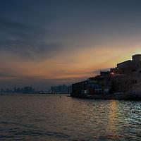 Dawn in Jaffa Port