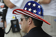 Ottensheim, AUSTRIA.  USRowing CEO, Glenn MERRY,  at the 2008 FISA Senior and Junior Rowing Championships,  Linz/Ottensheim. Sunday,  27/07/2008.  [Mandatory Credit: Peter SPURRIER, Intersport Images] Rowing Course: Linz/ Ottensheim, Austria