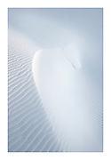 Gypsum dunes, White sands National Monument, New Mexico
