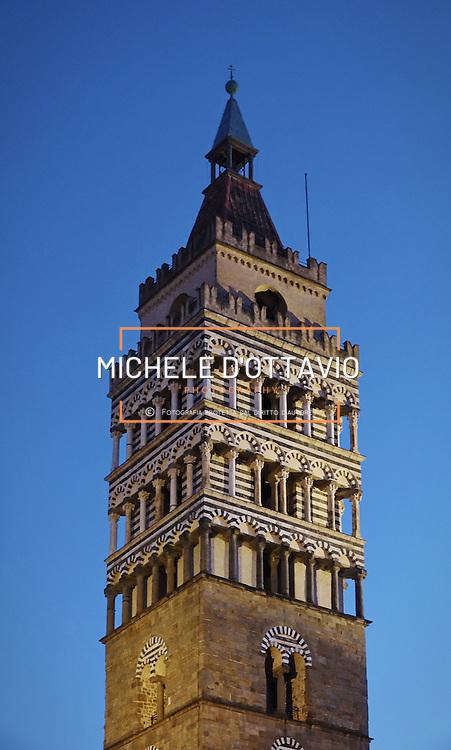 La torre del campanile di Pistoia, Capitale della Cultura italiana 2017