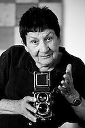 Marti Friedlander, New Zealand photography icon. November 2007.<br />