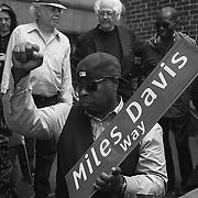 Miles Davis Way Dedication