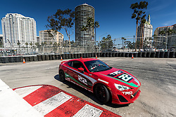 LONG BEACH, CA - APRIL 5  American actor, television director, dancer, and game show host Alfonso Ribeiro car #22 drives on track during media day for Pro/Celebrity Race at Toyota Grand Prix of Long Beach on 2016 April 5, in Long Beach, California. Byline, credit, TV usage, web usage or linkback must read SILVEXPHOTO.COM. Failure to byline correctly will incur double the agreed fee. Tel: +1 714 504 6870.