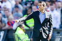 ROTTERDAM - Feyenoord - SC Heerenveen , Stadiond de Kuip , Voetbal , Eredivisie Play-offs Europees voetbal, seizoen 2014/2105 , 24-05-2015 , Feyenoord trainer Giovanni van Bronckhorst