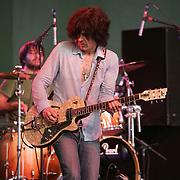 June 18, 2006; Manchester, TN.  2006 Bonnaroo Music Festival. .Son Volt performs live at Bonnaroo 2006.  Photo by Bryan Rinnert
