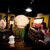 ORLANDO, FL -- Furniture and imports from all over the world including Indonesia, India, China, Vietnam, Thailand, and Bali sit for sale at Washburn Imports in Orlando, Florida.  (PHOTO / Chip Litherland)