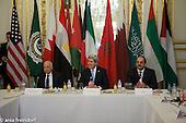 U.S. Secretary of State John Kerry during the Arab Peace Initiative in Paris