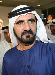 Sheikh Mohammed Al Maktoum , Prime Minister and vice President of the UAE . Photo by: Stephen Lock/i-Images