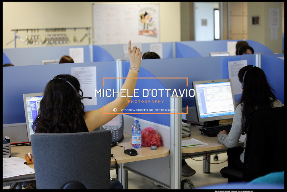 Call center Comdata sede di Olbia