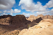 View from the High Place of Sacrifice in Petra, Jordan.