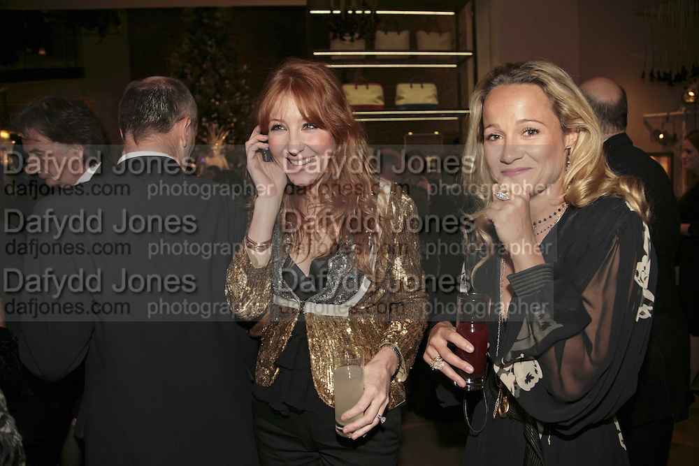 Charlotte Tilbury, THE CHRISTMAS PARTY CELEBRATING THE 225TH ANNIVERSARY OF ASPREY. 167 NEW BOND ST. LONDON W1. 7 DECEMBER 2006. ONE TIME USE ONLY - DO NOT ARCHIVE  © Copyright Photograph by Dafydd Jones 248 CLAPHAM PARK RD. LONDON SW90PZ.  Tel 020 7733 0108 www.dafjones.com