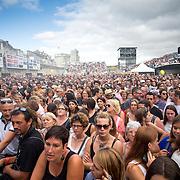 la foule lors des francofolies de La Rochelle 2015