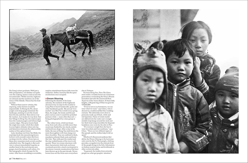 A gritty travel piece photographed using only black & white film in northern Ha Giang province, Vietnam.