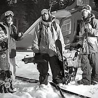 Mathieu, Travis and Mads