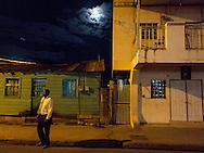 Anse La Raye, Saint Lucia: Street scene.