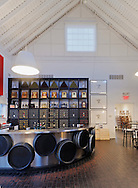 Wine Tasting Room, Bedell Cellars Winery, Cutchogue, New York, North Fork, Long Island