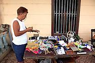 House porch shop in San Diego de los Banos, Pinar del Rio, Cuba.