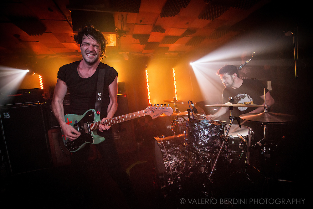 Japandroids play at Birthdays in Dalston, London. It's their first concert in Europe in over three years.