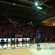 Halftime of Gonzaga Day game vs. Memphis Jan. 31. (Gonzaga photo/Ryan Sullivan)
