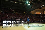 Halftime of Gonzaga Day game vs. Memphis Jan. 31. (Gonzaga photo/Ryan Sullivan)