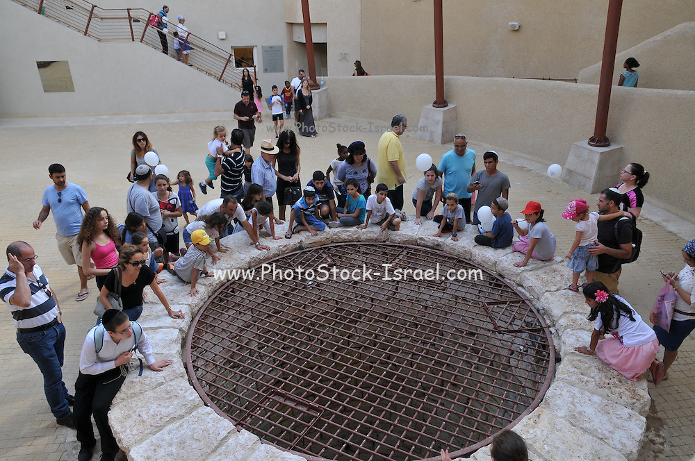 Patriarch Abraham's historic well. Beer Sheva, Israel