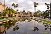 Reflecting Pool,  Balboa Park in San Diego, California