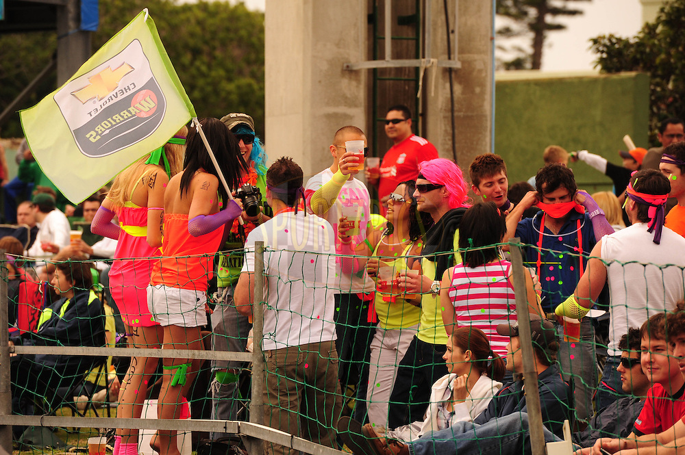 Fans  during match 12 of the Airtel CLT20 between The Warriors and The Central Stags held at St Georges Park in Port Elizabeth on the 18 September 2010..Photo by: Iky/SPORTZPICS/CLT20
