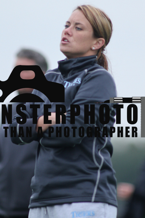 Holy Family University Manager Jill Kehan during a NCAA regular season match against Goldey-Beacom College Tuesday, Oct. 09, 2012 at Kirkwood Soccer Complex...Special to Monsterphoto/SAQUAN STIMPSON