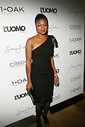 """Tantyana Ali pictured at the cocktail party celebrating Sean """"Diddy"""" Combs appearance on the """" Black on Black """" cover of L'Uomo Vogue's October Music Issue"""