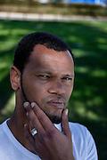 Appiano Gentile, il calciatore dell'inter Rolando. Rolando Jorge Pires da Fonseca, noto semplicemente come Rolando (S&atilde;o Vicente, 31 agosto 1985), &egrave; un calciatore capoverdiano naturalizzato portoghese, difensore dell'Inter, in prestito dal Porto, e della Nazionale portoghese. <br /> Rolando Jorge Pires da Fonseca (born 31 August 1985 in S&atilde;o Vicente, Cape Verde), simply known as Rolando, is a Portuguese professional footballer who plays for Internazionale on loan from F.C. Porto, as a central defender.