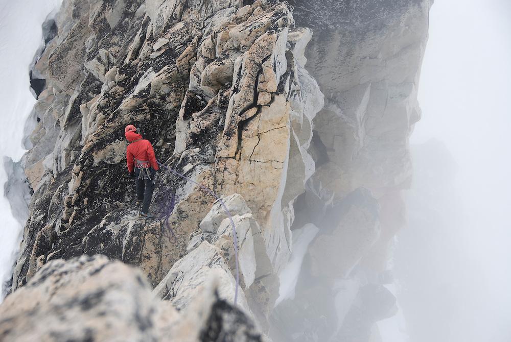 Kate Rutherford, Claw Peak, Waddington Range, BC