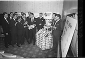 "1964 - Press Conference for W and C McDonnell ""Surprise Peas"" at Powers Hotel"