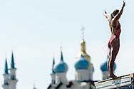 FINA High Diving World Cup 2014<br /> Kazan Tatartsan Russsia RUS Aug. 8 to 10 2014<br /> Kazanka River  Day00 - Aug.7 <br /> Photo G. Scala/Deepbluemedia