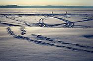 .Winter scenes around Madison, Wisconsin.